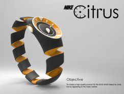 Nike Citrus 橘皮运动概念手表设计