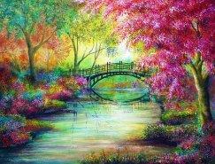 Ann Marie Bone色彩丰富的风景油画欣赏