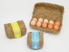 Happy Eggs鸡蛋包装设计