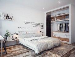 5个现代风格卧室设计欣赏