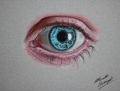 Marcello Barenghi彩色鉛筆畫作品欣賞