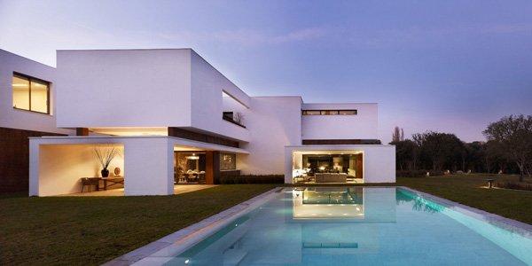 马德里现代大气的豪宅欣赏