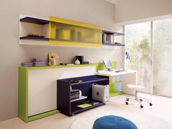 儿童房卧室装修,14款儿童房创意空间交换利用装修效果图大全