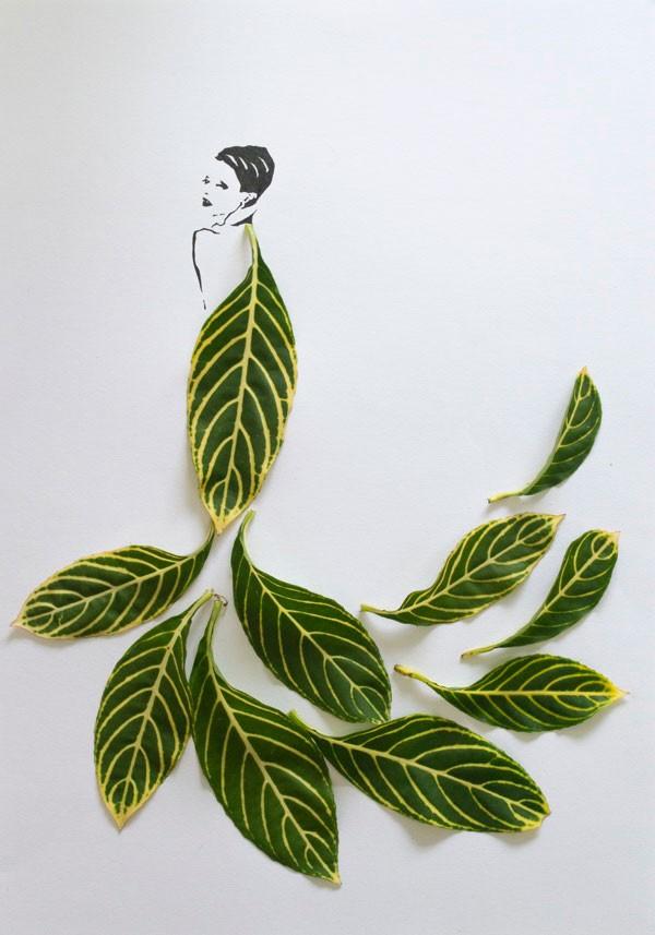 马来西亚设计师Tang Chiew Ling:树叶的艺术