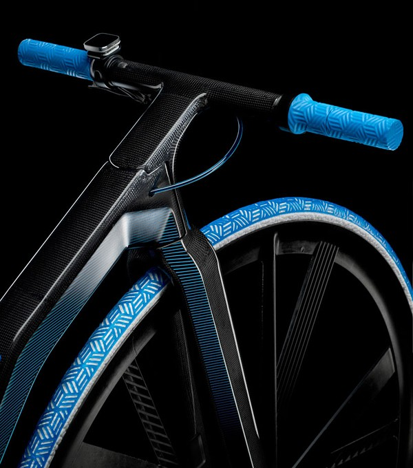 DING3000设计:1865复古概念电动自行车