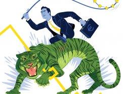 Ben Mounsey雜志插圖設計