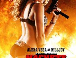 电影海报欣赏:弯刀杀戮 Machete Kills