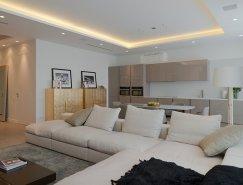 莫斯科极具现代感的优雅公寓设计