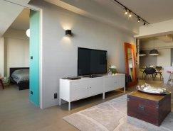 台湾优雅简约的现代公寓设计