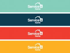 品牌设计欣赏:Service4home