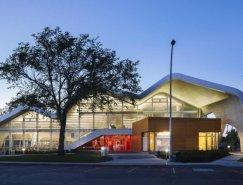 加拿大埃德蒙顿未来主义风格图书馆
