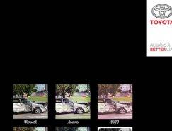 丰田汽车广告:驾驶时不要拍照