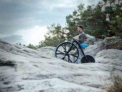 DING3000設計:1865復古概念電動自行車
