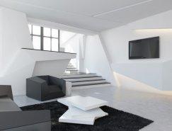 未来主义风格公寓装修设计