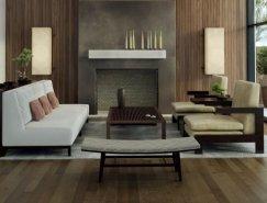 大气的现代客厅设计欣赏