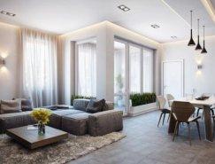 德国别致的公寓设计