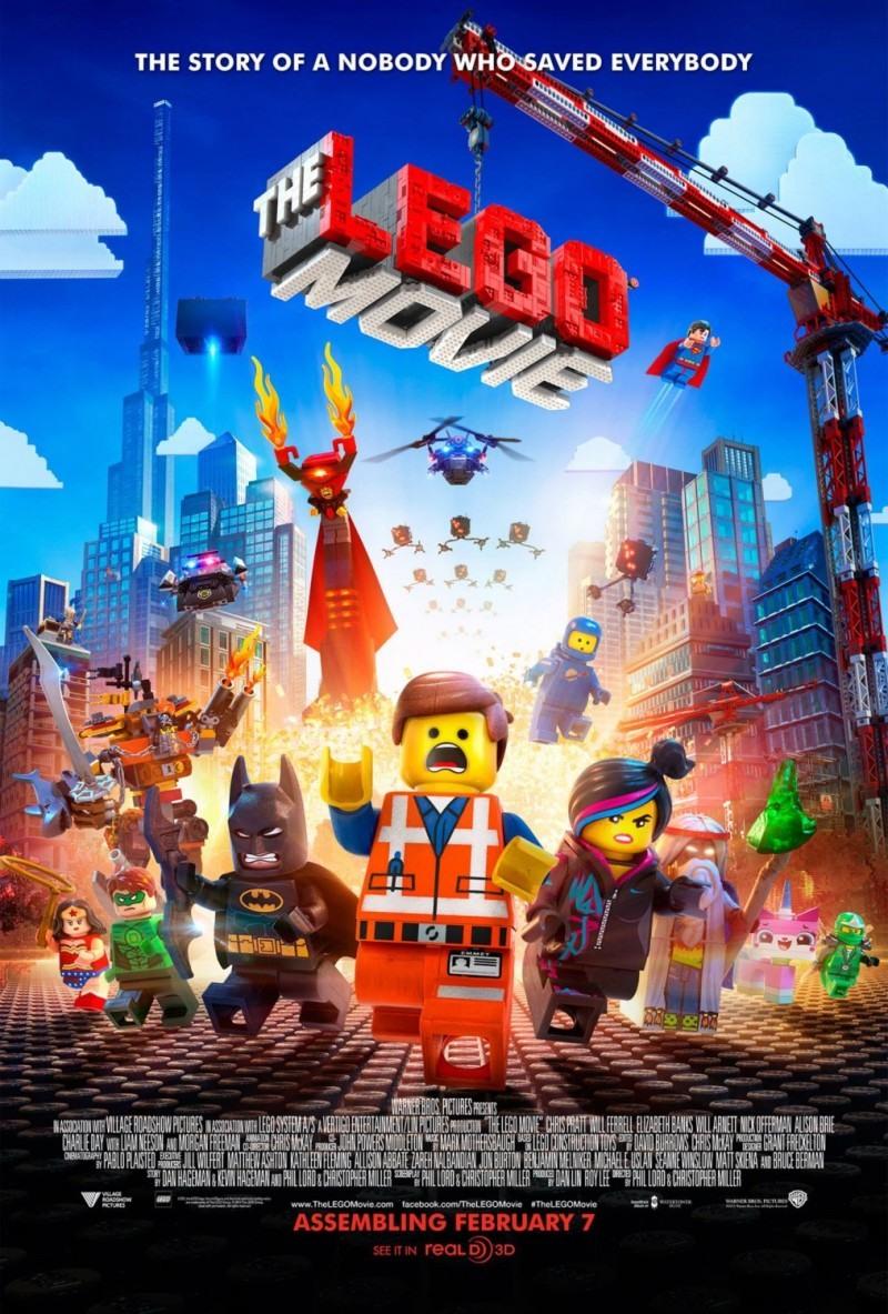 电影海报欣赏:乐高大电影 the lego movie