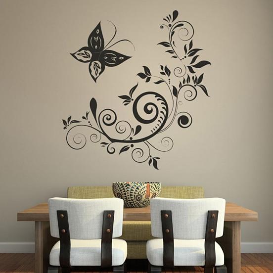 家居装修中创意时尚的墙绘设计
