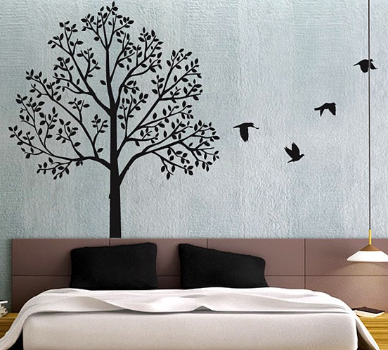 Toddler Bedroom Wall Art Simple Bedroom Curtain Ideas Images Of Bedroom Design Creative Bedroom Wall Decor Ideas: 家居装修中创意时尚的墙绘设计(2)
