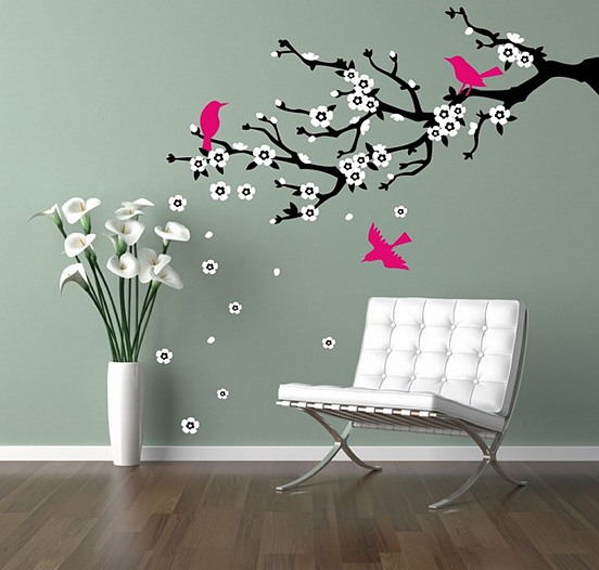 家居装修中创意时尚的墙绘设计(2)