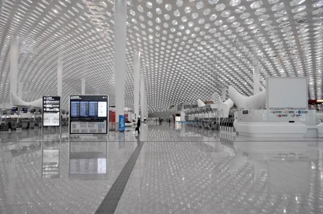 深圳宝安机场t3航站楼平面图图库 深圳宝安机场t3航站楼停车场 深圳宝
