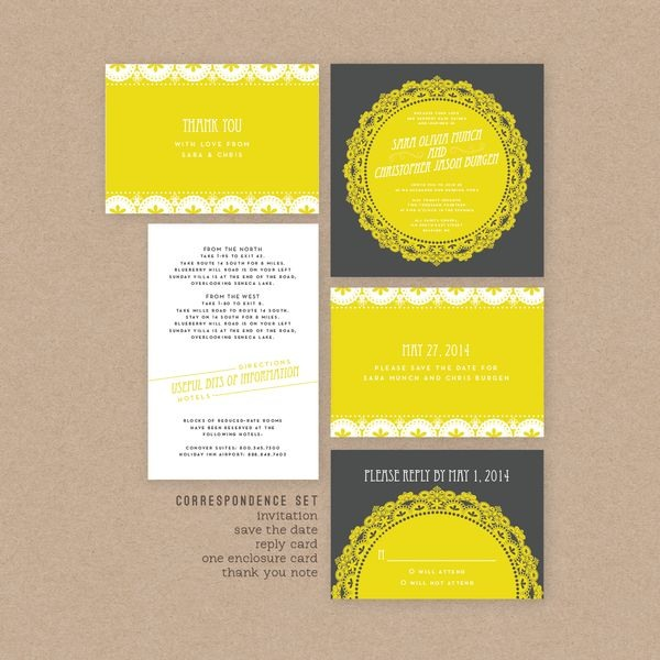 30个漂亮的国外结婚贺卡设计欣赏