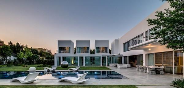 以色列大气豪华别墅设计