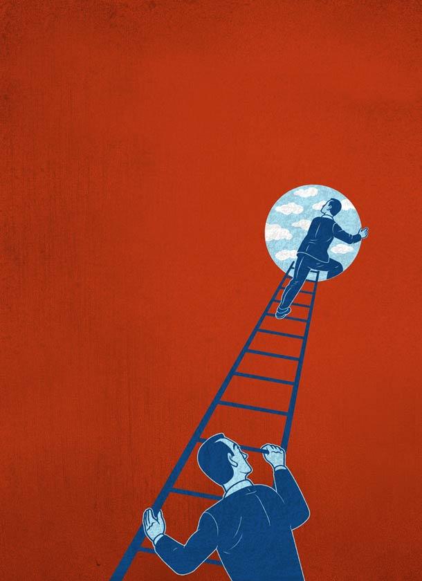 意大利插画家Francesco Bongiorni作品欣赏
