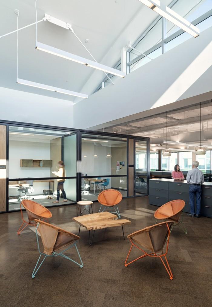 Zazzle现代开放式办公空间设计