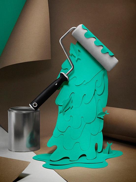 Fideli Sundqvist创意3D纸雕艺术