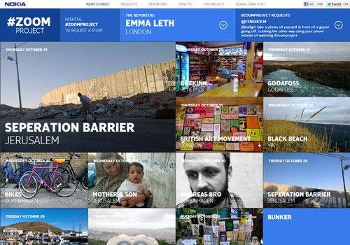 27个国外精美的HTML5网站欣赏