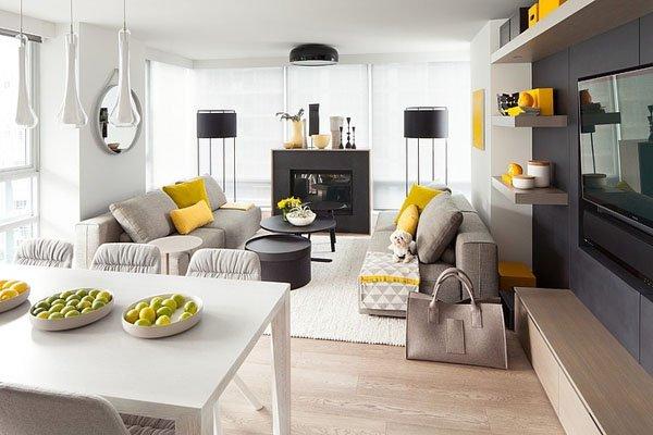 温哥华现代简约风格公寓设计