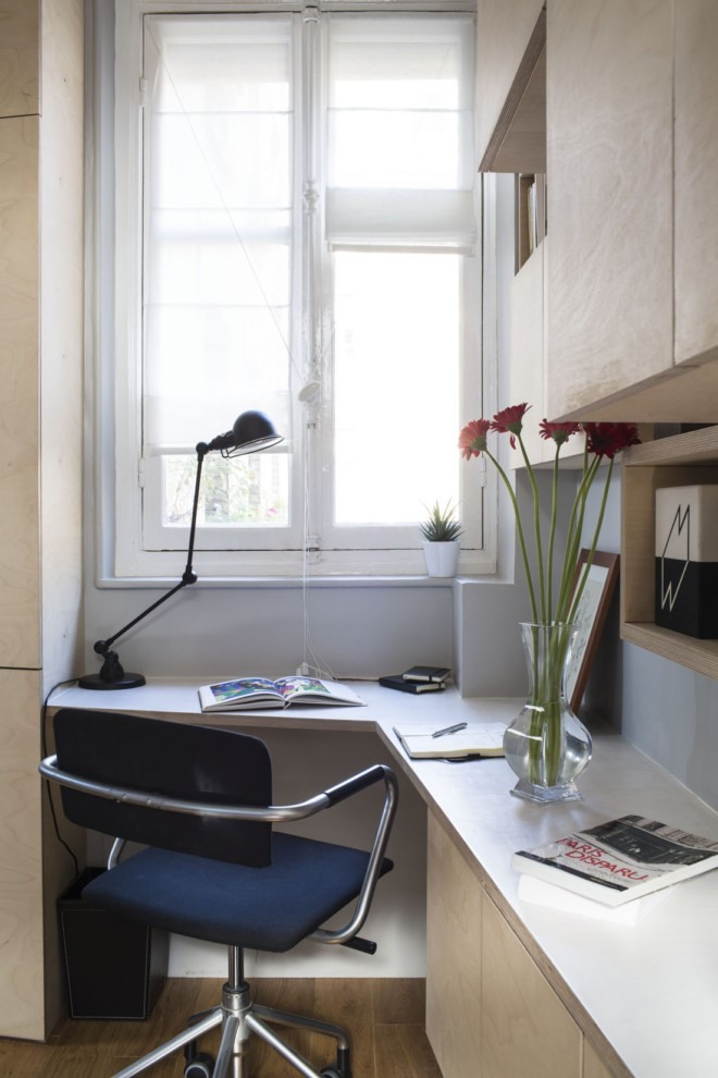 生活资讯_巴黎16平米小公寓的空间利用 - 设计之家