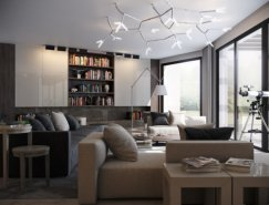 俄罗斯设计师Vladimir Bolotkin现代室内装修设计
