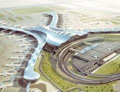 KPF设计:阿布扎比国际机场航站楼