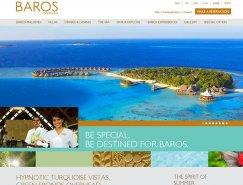 漂亮的酒店和度假村网站设计