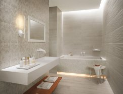 不同风格的奢华浴室设计