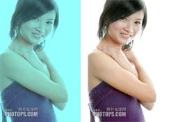 一步完美修复偏色或偏暗的图片
