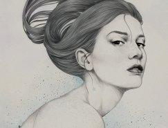 Diego Fernandez唯美细腻的人物插画欣赏