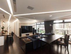 台北时尚现代风格的公寓设计