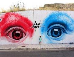 20个令人惊叹的街头墙绘艺术作品