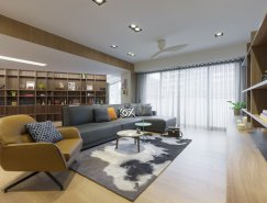 <b>臺灣簡約大氣的現代公寓設計</b>