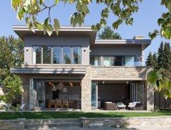 优雅的Okanagan湖岸别墅设计