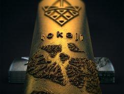 手工打造的Tokaji葡萄酒包装设计
