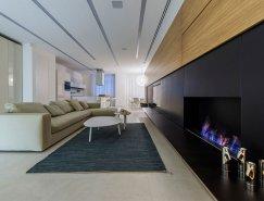 乌克兰200平米开放式公寓空间设计