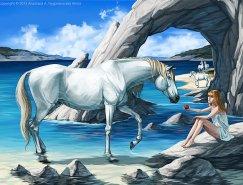 俄罗斯Anasis漂亮的动物插画欣