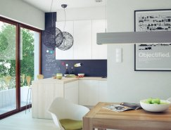 温馨极简的现代公寓设计
