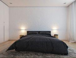 以色列极简风格三居室公寓w88手机官网平台首页