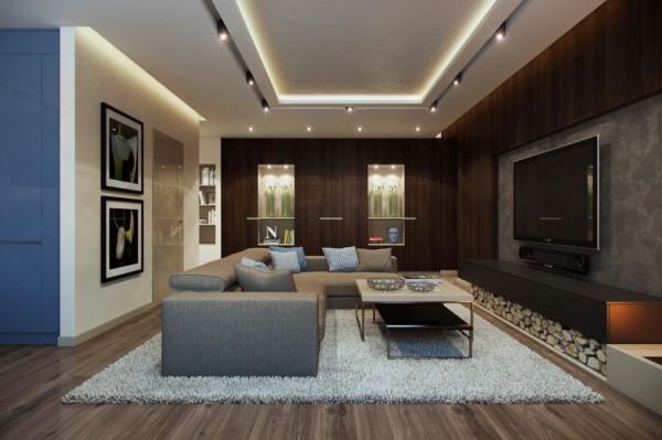 开放式布局的现代公寓欣赏