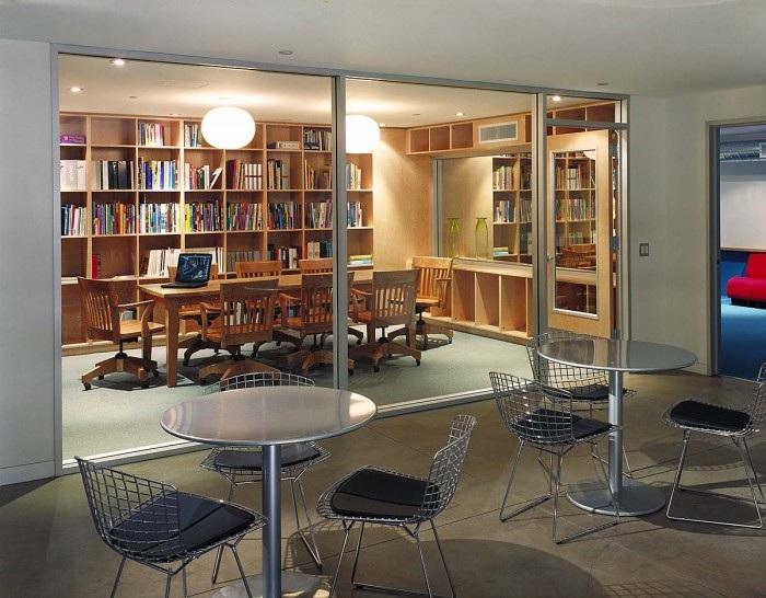 kpb广告公司开放式办公室图片
